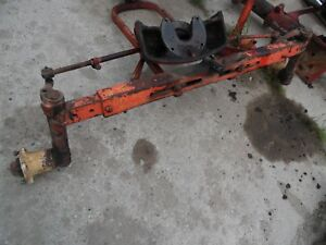 1958 Allis Chalmers D 17 Diesel Farm Tractor Wide Front Axle Assembly