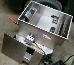 used Goslyn Gos 40 Grease Recovery Device Cart Commercial Restaurant Gos40 Trap