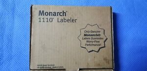 Monarch 1110 One Line Labeler Prints 1 Line 6 Characters Per Line