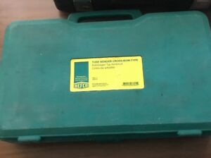 Refco 4666076 Tube Bender Cross Bow Type Model Tell 7 Excellent Condition