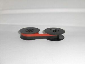 Universal Typewriter Ribbon 2 X 1 2 Inch Black And Red Ink Twin Spool Sc20br