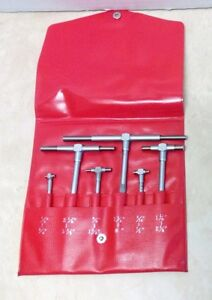 Mitutoyo 155 903 5 16 To 6 Six Piece Telescoping Gage Set Good Pre owned Cond