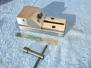 Hermann Schmidt New V0 4 Grind Vise wrench Toolmaker Machinist Watchmaker Grind