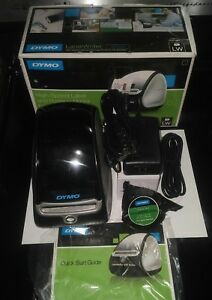 Dymo Labelwriter 450 Label Thermal Printer 130 Labels power Usb Cables 1750110
