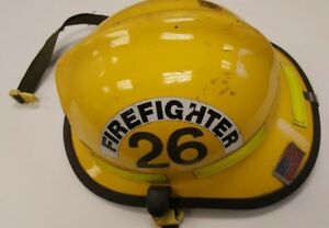 Firefighter Bunker Turn Out Gear Cairns N660c 660c Yellow Helmet Reflectors H146