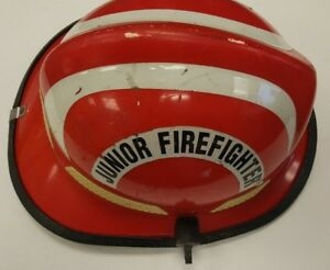 Firefighter Bunker Turn Out Gear Cairns N660c 660c Red Junior Helmet H145