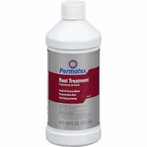 Permatex 81773 Rust Stopper For Cars Automotive Rust Remover 16 Oz 473 Ml
