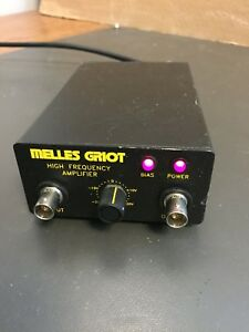 Melles Griot High Frequency Amplifier 134mp007