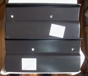 New 1967 72 Chevrolet C10 Stepside Bumper Bracket Covers lh And Rh