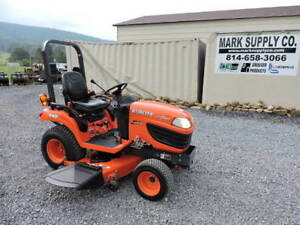 2012 Kubota Bx2660 Xtra Power Sub Compact Tractor Belly Mower 4x4 Diesel Video
