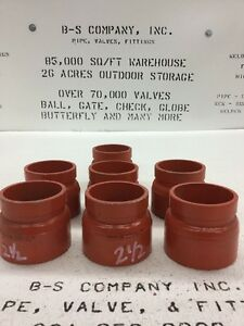 Gruvlok Fig 7087 Grooved Adapter Pipe Fitting2 5 Female Threaded