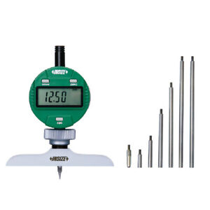 Insize Electronic Digital Depth Gauge 0 12 0 300mm Resolution 0005 0 01mm