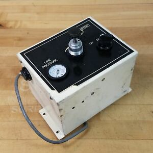 Lapmaster Unknown Model Number Up down Pneumatic Control Box 0 30 Psi Used