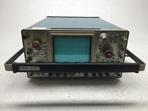 Tektronix 2465b 4 channel 400mhz Portable tested Fair Condition