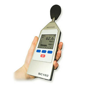 Promax Sc 102 Sound Level Meter W Measurement Protocols 66 To 140 Db