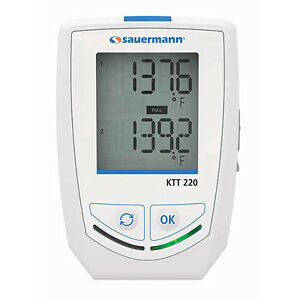 Sauermann Ktt 220 o Multi function Thermocouple Data Logger with Display