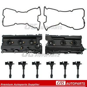 Fits 05 17 Nissan Frontier Pathfinder Xterra Valve Cover Gaskets Ignition Coil