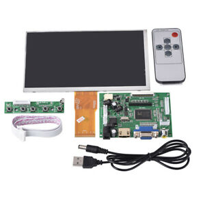 7 Inch 1024 600 Lcd Display For Raspberry Pi hdmi vga driver Board