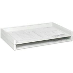 Saf4897 Safco Heavy duty Plastic Stacking Tray