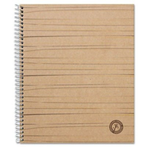 6 Pack Sugarcane Based Notebook College Rule 11 X 8 1 2 White 100 Sheets pad
