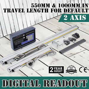 2 Axis Digital Readout Dro W 2 Linear Scale Drilling Digital Filtering Usa