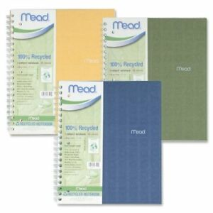 Wholesale Case Of 25 Mead Recycled Notebooks recycled Notebook College Ruled