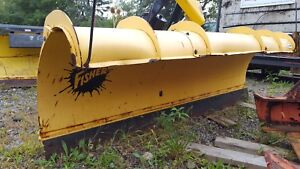7 6 Ft Fisher Minute Mount 2 Ii Snowplow Dodge Chevy Ford Gmc 18