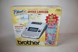Brother P touch Pt 1830vp Office Labeler System Brand New New Old Stock