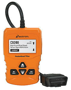 Actron Cp9660 Pocket Scan Plus Entry Level Scan Tool