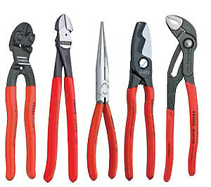Knipex Tools Lp 9k0080108us 5 Piece Automotive Pliers Set New