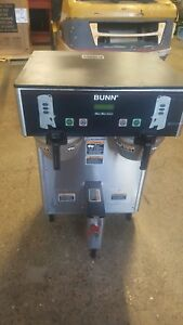 Bunn 34600 Dual Tf Dbc Thermofresh Digital Coffee Brewer Maker W Faucet
