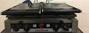 Nuova Simonelli Commercial Panini Grill With Two Plates p2l