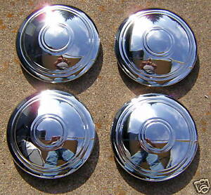 Chevy Chrome Smoothie Rally Hub Caps 4 Chevrolet chevy hot Rod rat Rod Sled