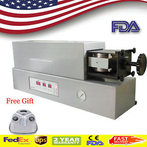 Dental Lab Flexible Denture Machine Dentistry Injection System Equipment flask