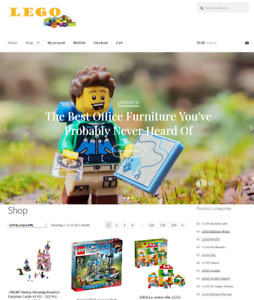 Lego Website Business For Sale Fully Stocked Free Hosting