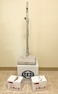 Sebo Duo Brush Machine 9401am Dry Carpet Cleaner bonus