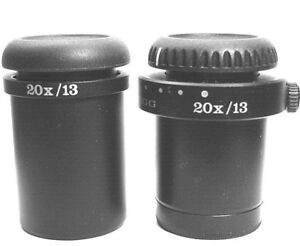 Wild Heerbrugg 20x 13 Pair Of Microscope Eyepieces new