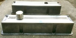 Nice Sbc Custom Built Chevy Billet Thick Casting Aluminum Tall Valve Covers