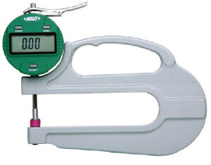 Insize Electronic Digital Thickness Gauge 0 4 0 10mm Resolution 0005 0 01m
