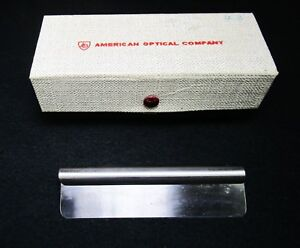 American Optical 120mm In Box Unused Microtome Blade
