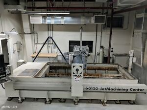 2010 Omax 60120 Cnc Waterjet Cutting Ref 7796076