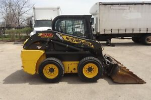 2011 New Holland L218 Skid Steer Wheel Loader See Pictures