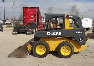 2010 John Deere Skid Steer Loader 318d See Pictures