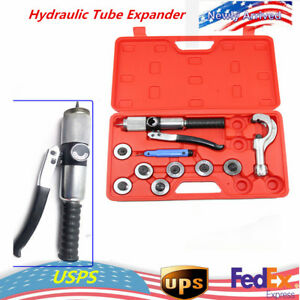 7 Lever Hydraulic Tube Expander Swaging Tubing Expander Tools Hvac Kits Hot