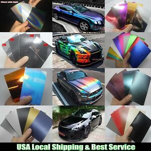 Try Sample 3d 4d 5d Glossy Pearl Metal Matte Chrome Mirror Vinyl Wrap Sticker Us