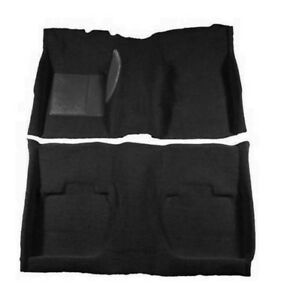 New 1965 1968 Ford Mustang Black Coupe Carpet Set Molded By Acc Nylon Hardtop