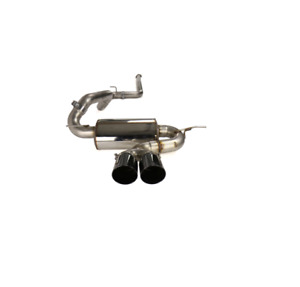 Awe Tuning Touring Non Resonated Exhaust For Ford Focus St Black Tips