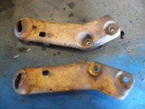 1955 Case 400 Gas Farm Tractor Light Brackets