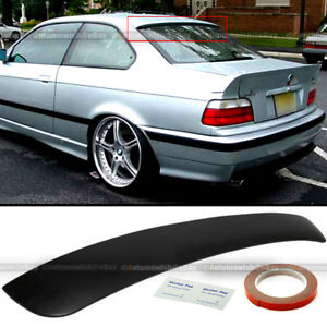 Fit 92 98 Bmw 3 Series E36 2dr Unpaited Rear Window Roof Wing Spoiler Visor