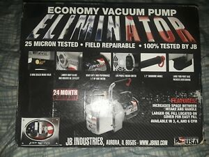 Jb 1 2 Hp 6cfm Vacuum Pump Hvac